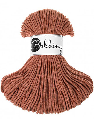 Bobbiny BRAIDED CORD 100M Terracotta