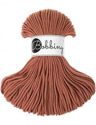 Bobbiny BRAIDED CORD 100M Terracotta