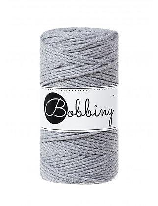 Bobbiny 3 Ply Macramé Rope - Silver
