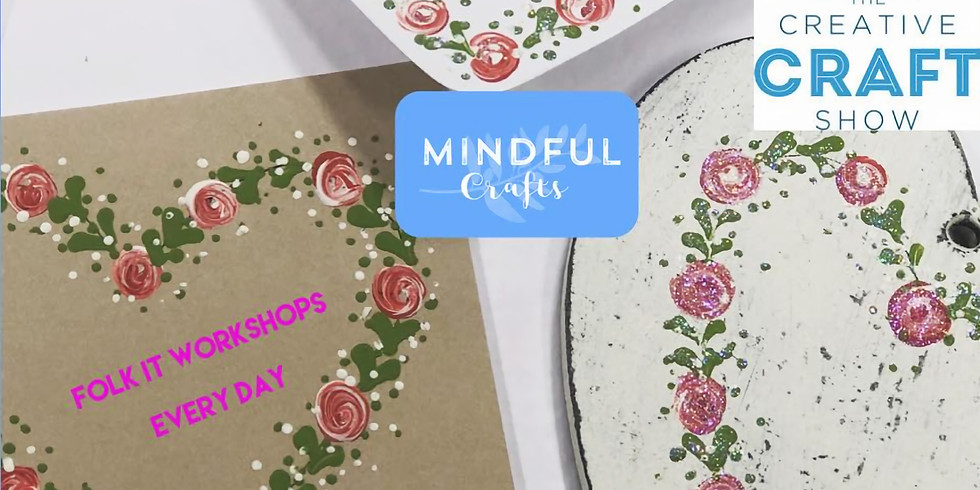 Mindful Folk It at The Creative Craft Show, NEC