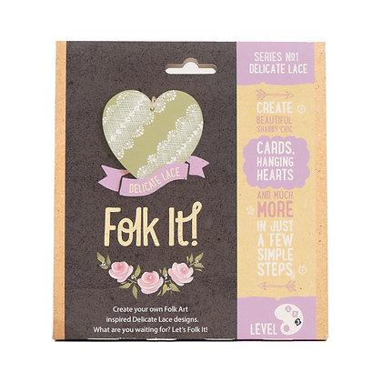 Folk it - Series No. 1 Delicate Lace Kit