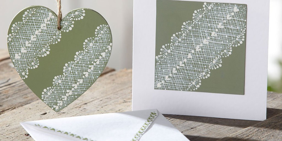 Folk It Level 3 Delicate lace design at Hobbycraft, Solihull