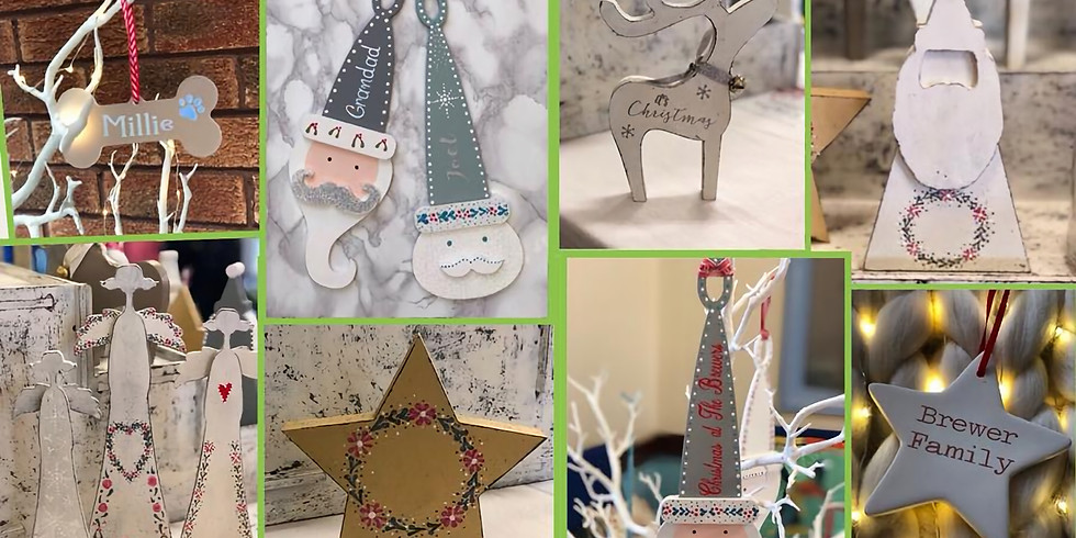 Mindful Crafts at Dickens Heath Christmas Craft and Gift Fair