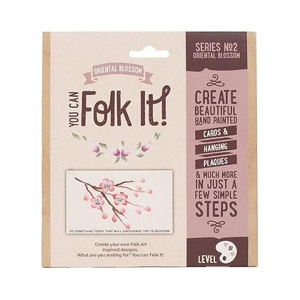 Folk it - Series No. 2 Oriental Blossom Kit