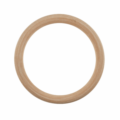 Craft Ring: Wooden: Round: 10cm Diameter