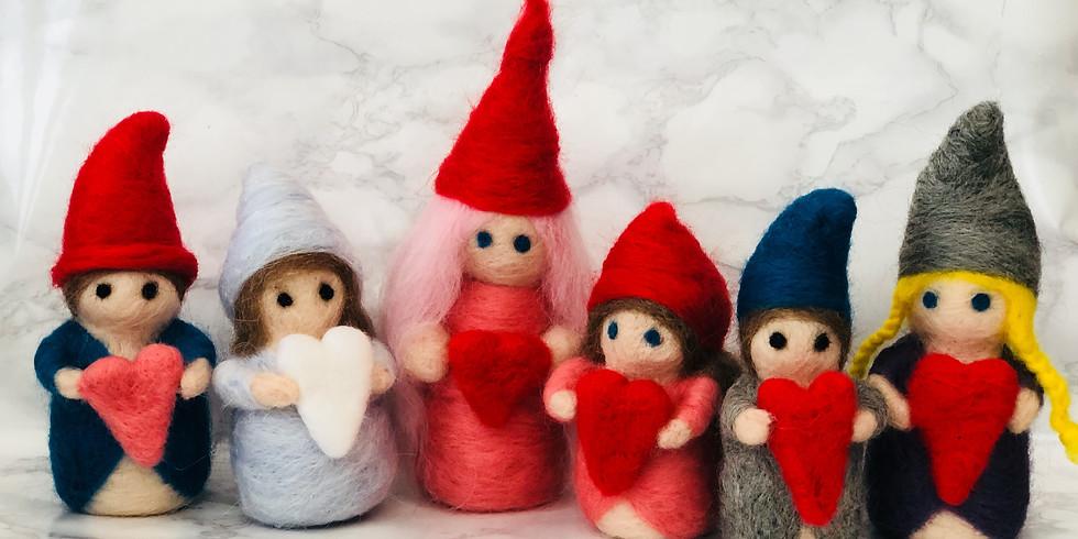 Needle Felting Workshop - Love Gnomes at Hobbycraft, Solihull
