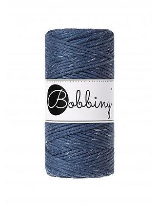 Bobbiny Macramé Cord - Silvery Jeans