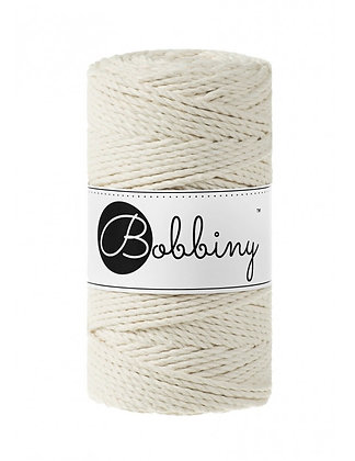 Bobbiny 3 Ply Macramé Rope - Natural