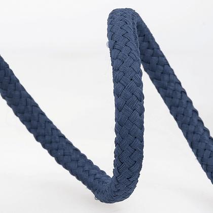 Stephanoise Macramé Cord: Braided: 15m x 8mm: Navy Blue