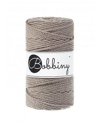 Bobbiny 3 Ply Macramé Rope - Coffee