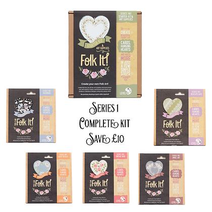 Folk It Series 1 - Complete Kit