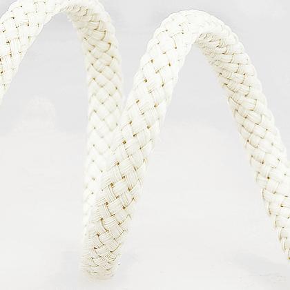 Stephanoise Macramé Cord: Braided: 15m x 8mm: Ivory
