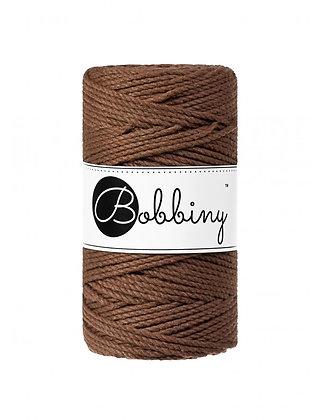 Bobbiny 3 Ply Macramé Rope - Mocha