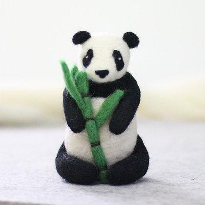 Giant Panda Needle Felting Kit - Hawthorn Handmade