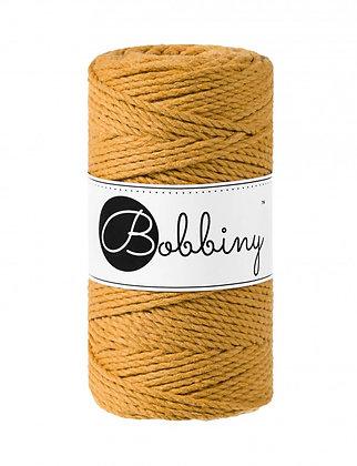 Bobbiny 3 Ply Macramé Rope - Mustard