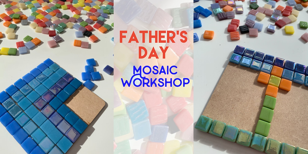 Father's Day Mosaic Workshop at Changes Coffee