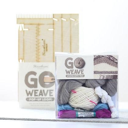 Weaving Loom Kit - Sky Blue & Fuscia