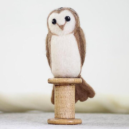 Barn Owl Needle Felting kit - Hawthorn Handmade