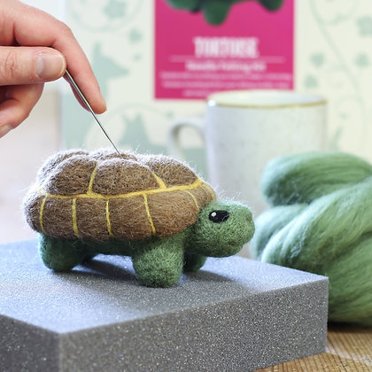 Tortoise Needle Felting Kit - Hawthorn Handmade