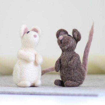 Mice Needle Felting Kit - Hawthorn Handmade
