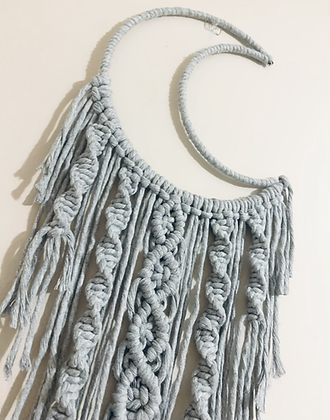 Macramé Moon wall hanging kit