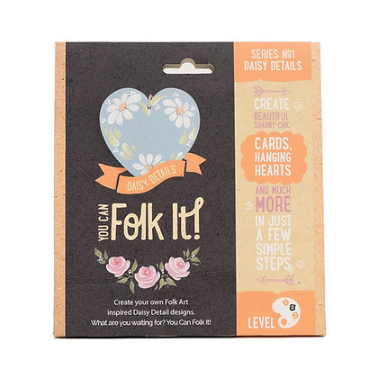 Folk it - Series No. 1 Daisy Details Kit