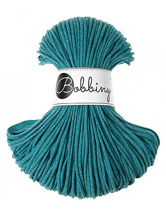 Bobbiny BRAIDED CORD 100M Teal