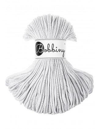 Bobbiny BRAIDED CORD 100M Silvery white