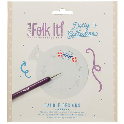 Folk It Dotty Collection - Baubles Design