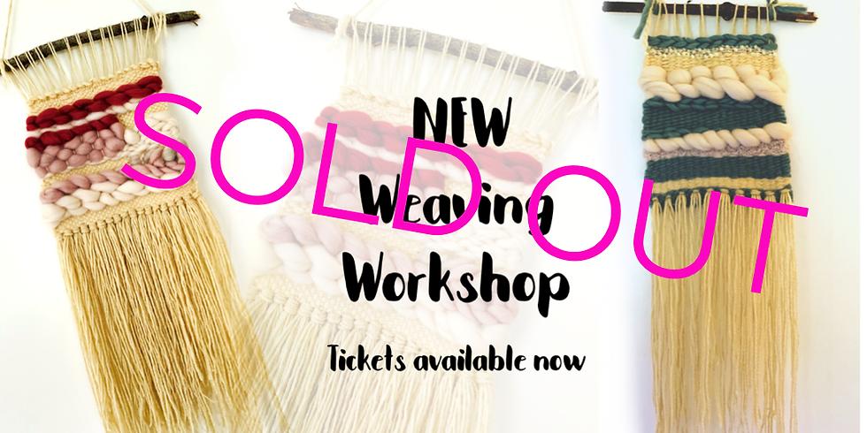 Weaving workshop at Changes Coffee Shop