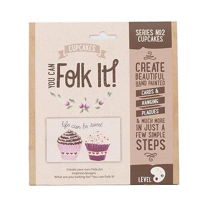 Folk it - Series No. 2 Cupcakes Kit