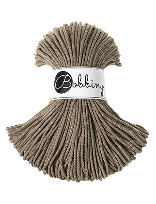 Bobbiny BRAIDED CORD 100M Coffee