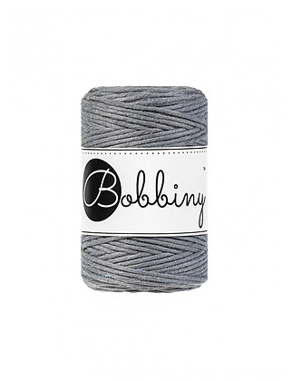 Bobbiny Macramé Cord - Steel