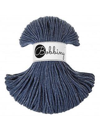 Bobbiny BRAIDED CORD 100M - Silvery Jeans