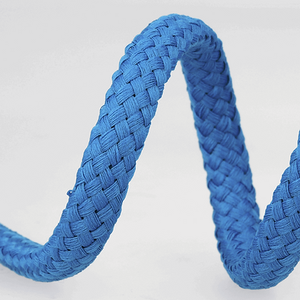 Stephanoise Macramé Cord: Braided: 15m x 8mm: Royal Blue