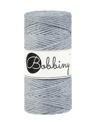 Bobbiny Macramé Cord - Silver
