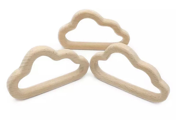 Craft ring - Wooden cloud