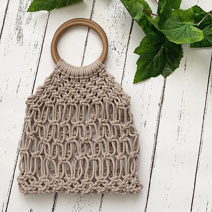 Macramé Tote bag kit