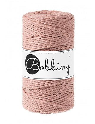 Bobbiny 3 Ply Macramé Rope - Blush