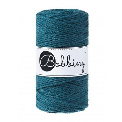 Bobbiny 3 Ply Macramé Rope - Peacock Blue