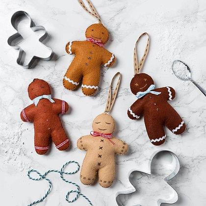 Corinne Lapierre - Gingerbread Men Felt Craft Kit