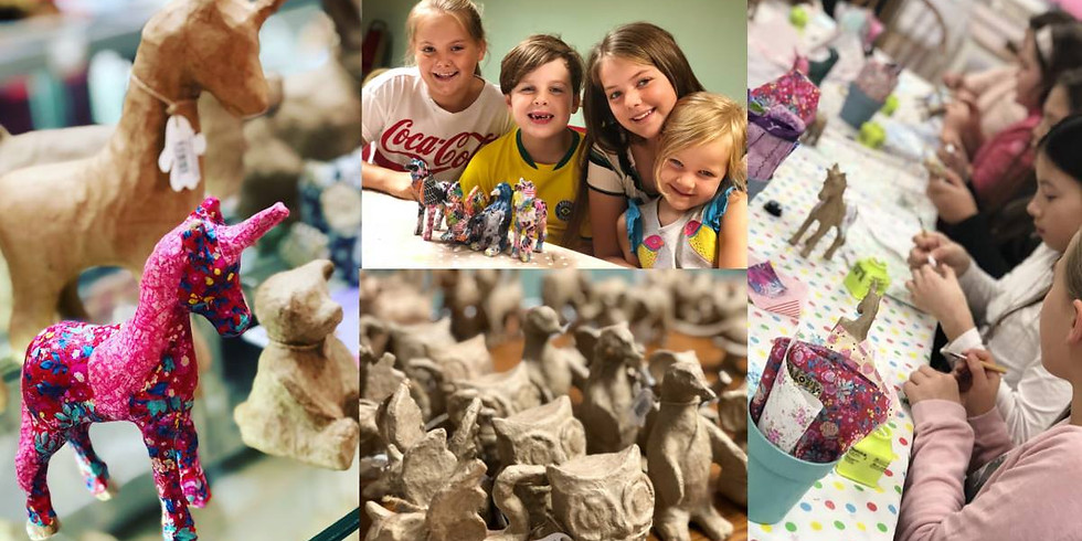 Half term Decopatch at The Core, Solihull
