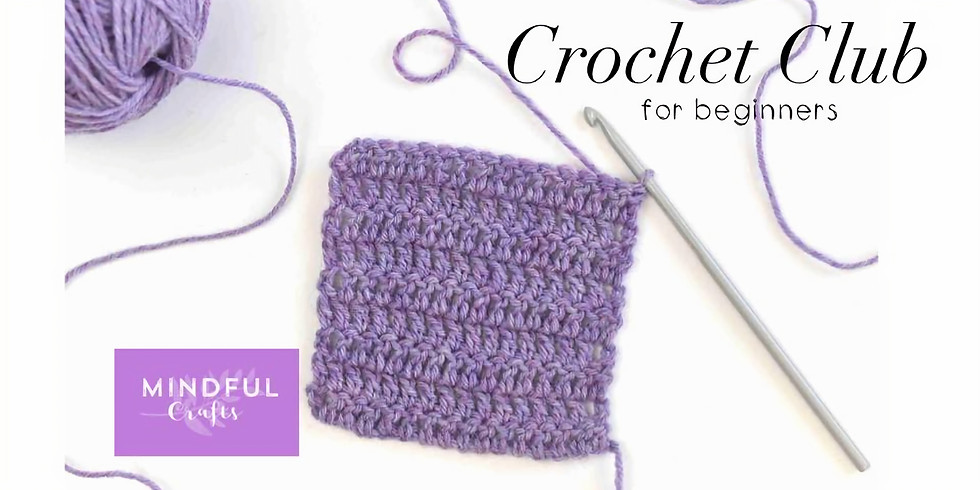 Crochet club for beginners at Changes Coffee