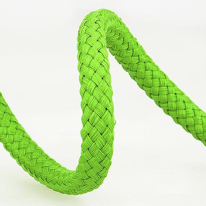 Stephanoise Macramé Cord: Braided: 15m x 8mm: Anise Green