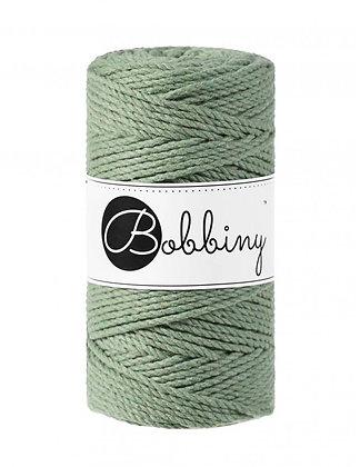 Bobbiny 3 Ply Macramé Rope - Eucalyptus Green
