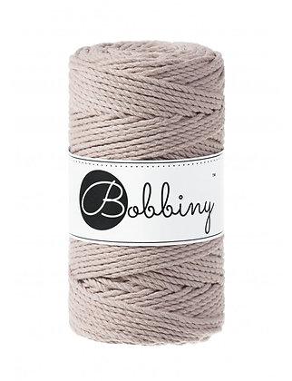 Bobbiny 3 Ply Macramé Rope - Pearl