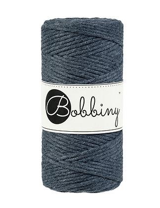 Bobbiny Macramé Cord - Charcoal