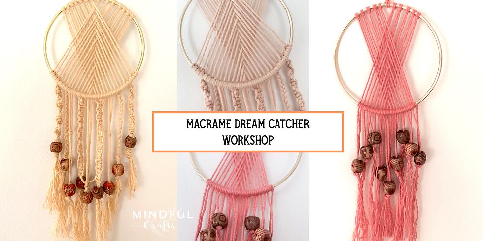 Macrame Dream Catcher Workshop at Changes Coffee