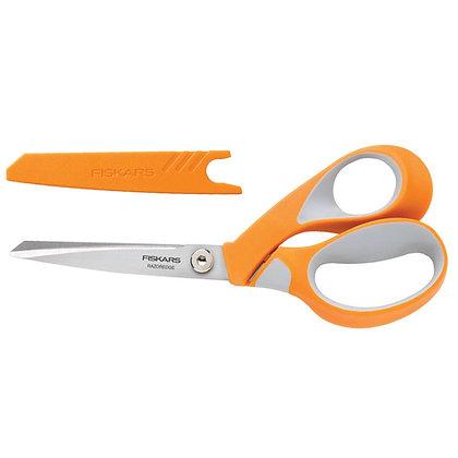 Fiskars Razor Edge Scissors with Softgrip - 21cm