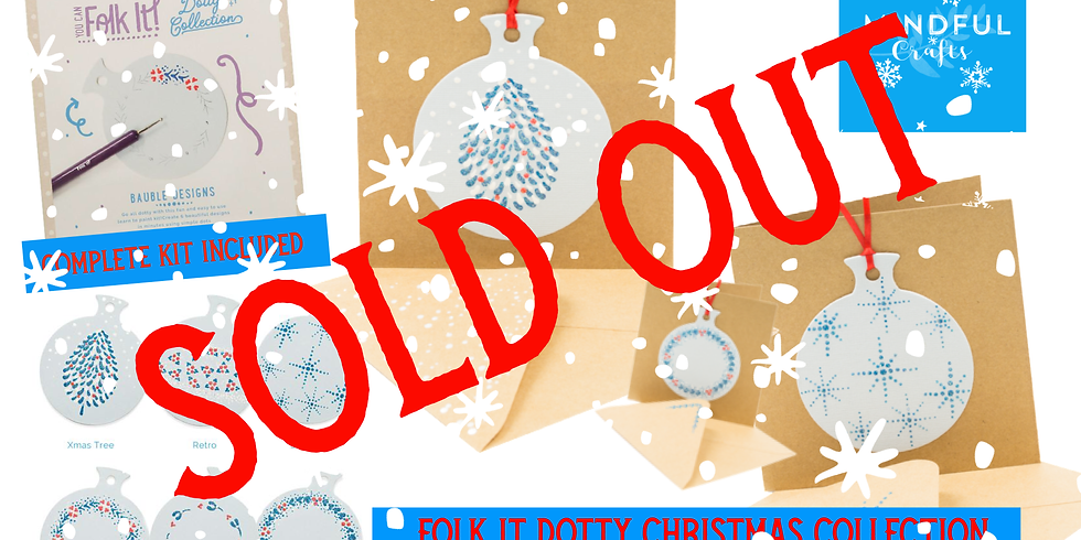 Folk It Dotty Christmas Collection - complete KIT INCLUDED